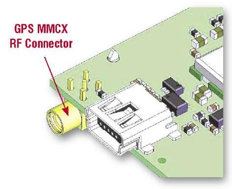 Разъем MMCX для GPS-антенны