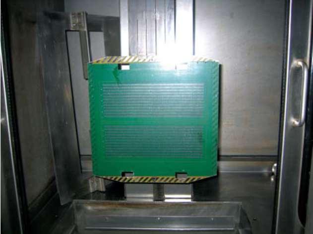 Испытание на термоудар в установке HALS