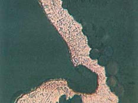 Поперечное сечение стенки в увеличенном масштабе