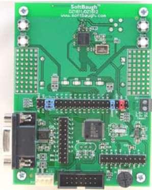 Отладочная плата DZ 1612 c микроконтроллером MSP430 и трансивером СС2420