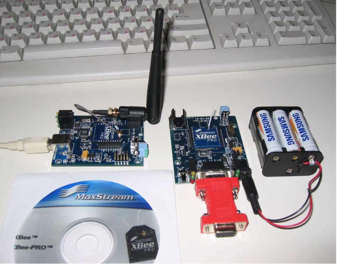Комплект оборудования для проведения теста дальности