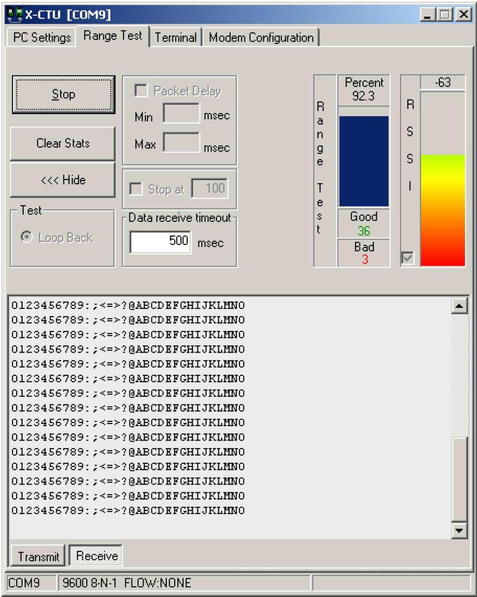 Внешний вид окна программы X-CTU