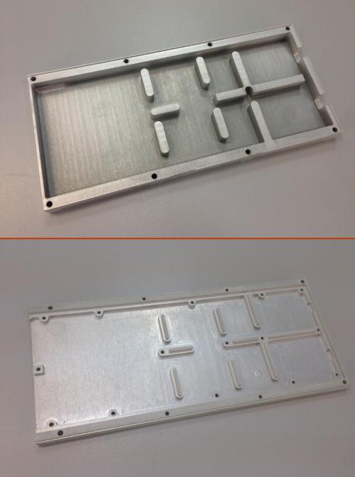 алюминиевые корпуса для РЭА, изготовленные методом фрезеровки