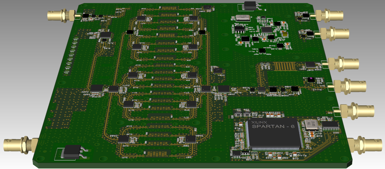 Проектирование топологии печатных плат для аналогового модуля